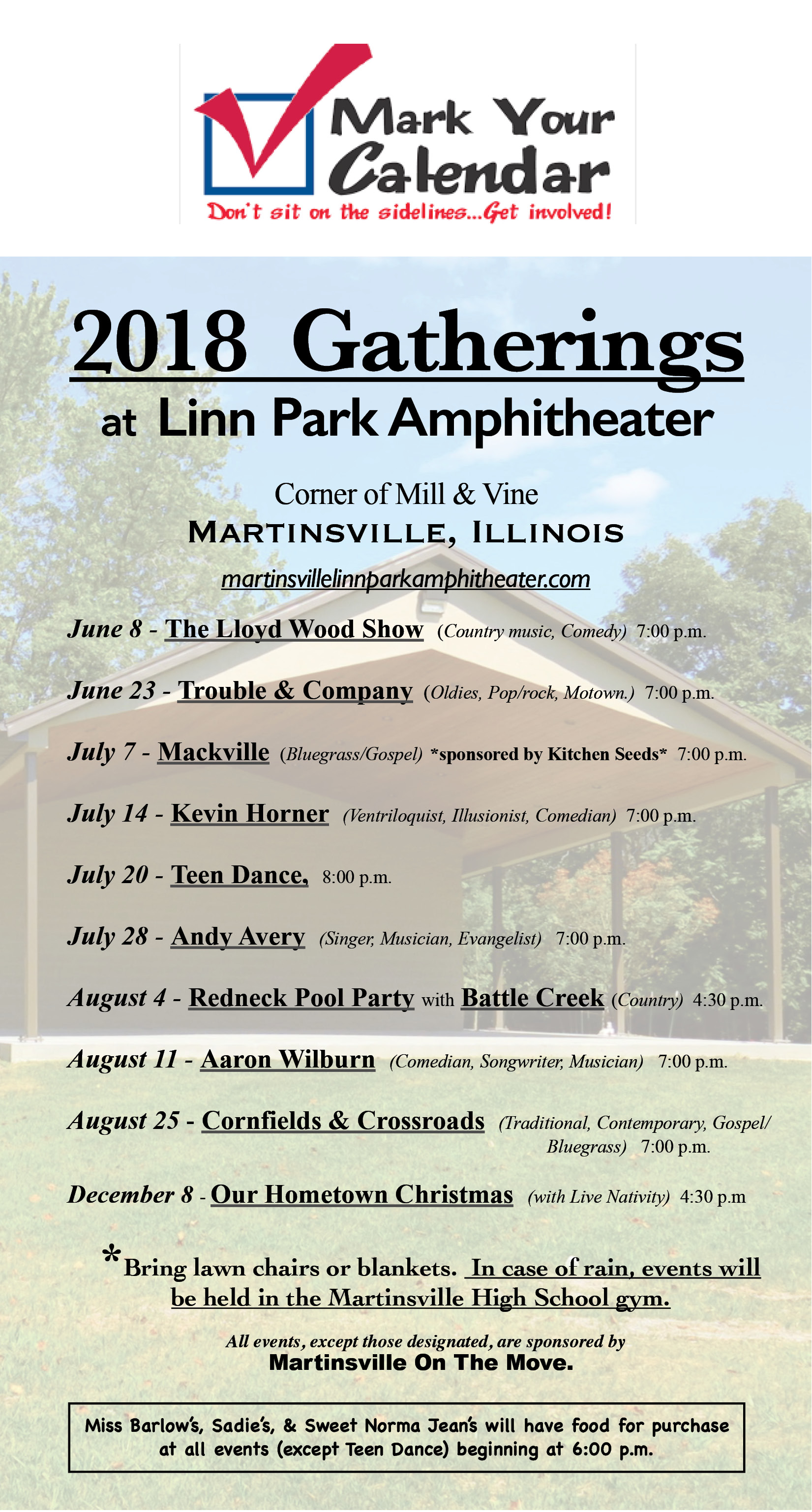 2018 Linn Park Gatherings
